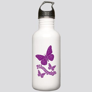 BUTTERFLIES BY CANDIDOG Water Bottle