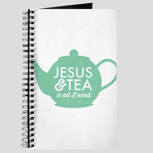 All I Need is Jesus and Tea Journal