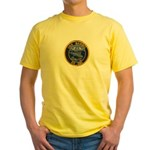 USS BARBEL Yellow T-Shirt