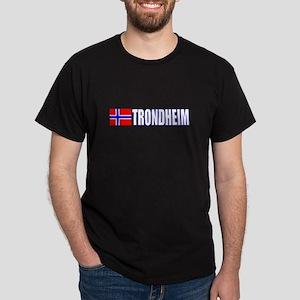 Trondheim, Norway Dark T-Shirt