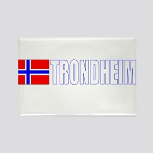 Trondheim, Norway Rectangle Magnet