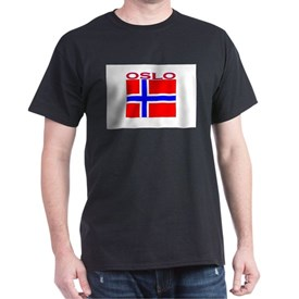 Oslo, Norway Flag T-Shirt