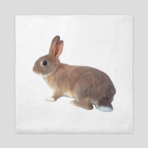 Fluffy Bunny Queen Duvet