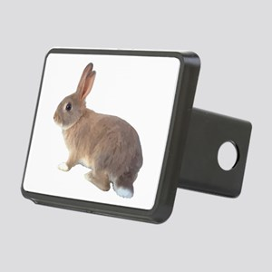 Fluffy Bunny Rectangular Hitch Cover