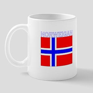 Norweigan Flag (Dark) Mug