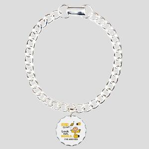 2014 Stick Grad 1.1 Gold Charm Bracelet, One Charm