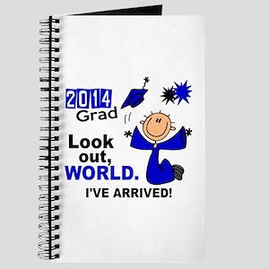 2014 Stick Grad 1.1 Blue Journal