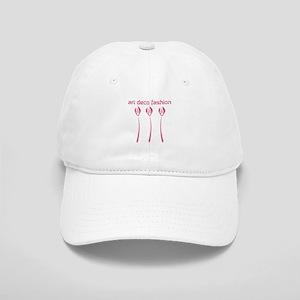 Custom Pink Tulips Art Deco Fashion Cap