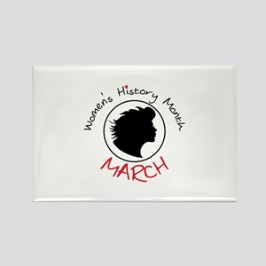 Women's History Month MARCH Magnets