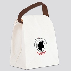 Women's History Month MARCH Canvas Lunch Bag