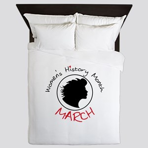 Women's History Month MARCH Queen Duvet