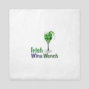 Irish Wine Wench Queen Duvet