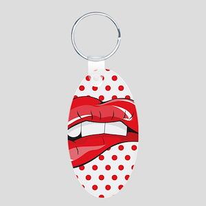 Pop Art Lips Keychains