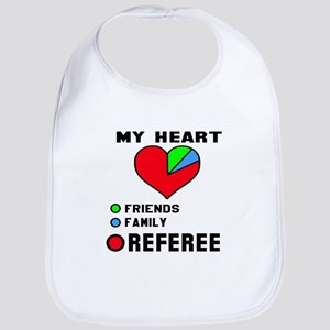 My Heart Friends, Family and Refer Cotton Baby Bib