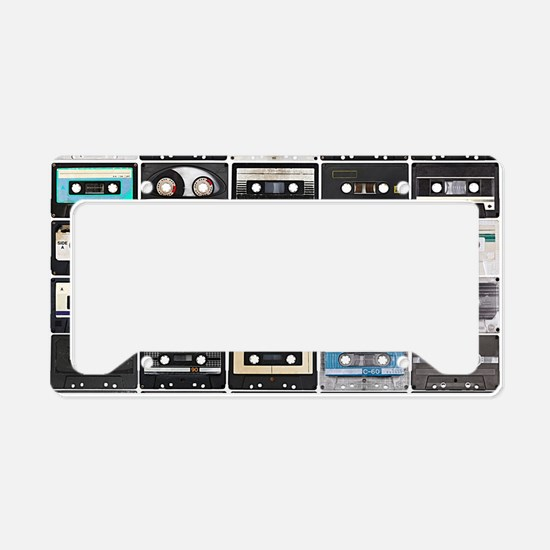 Cassette Tapes License Plate Holder