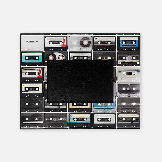 Cassette Tapes Picture Frame