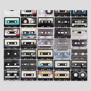 Cassette Tapes King Duvet