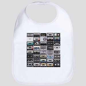 Cassette Tapes Bib