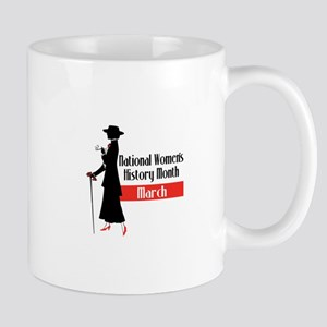 national Women's History month march Mugs