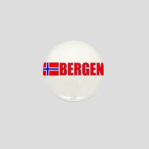 Bergen, Norway Mini Button