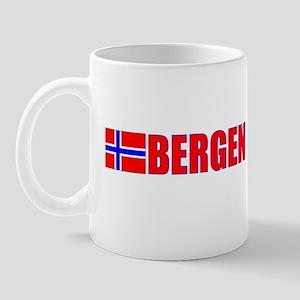 Bergen, Norway Mug