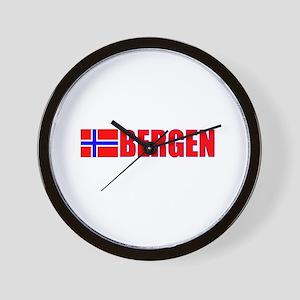 Bergen, Norway Wall Clock