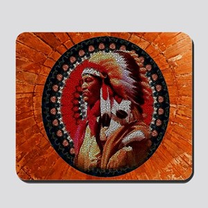 Stained Glass Chief Mousepad