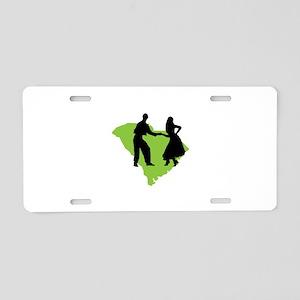 South Carolina Shag Aluminum License Plate
