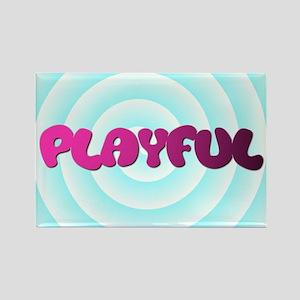 "HYPNOTIC ""PLAYFUL"" DESIGN Rectangle Magnet"