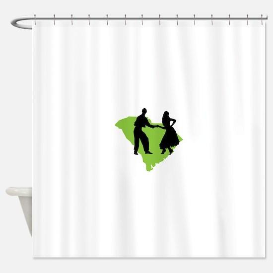 South Carolina Shag Shower Curtain