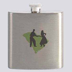 South Carolina Shag Flask