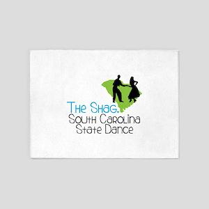 THe SHaG. SoUtH CaRoLina State Dance 5'x7'Area Rug