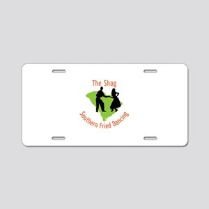 The Shag Southern Fried Dancing Aluminum License P