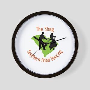 The Shag Southern Fried Dancing Wall Clock
