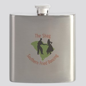 The Shag Southern Fried Dancing Flask