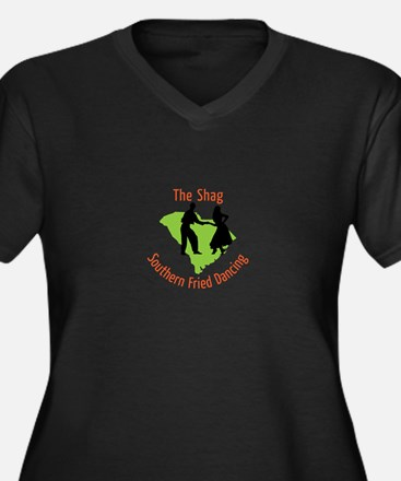 The Shag Southern Fried Dancing Plus Size T-Shirt