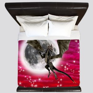 Black Dragon King Duvet