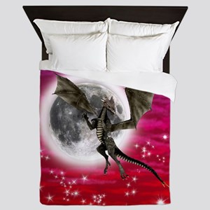 Black Dragon Queen Duvet