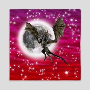 Black Dragon Queen Duvet