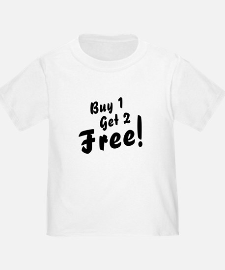 Triplets B1G2 Free Funny Baby Toddler Tee