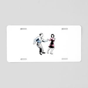 Shag Dancers Aluminum License Plate
