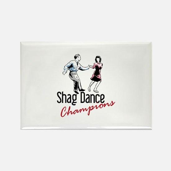 Shag Dance Champions Magnets