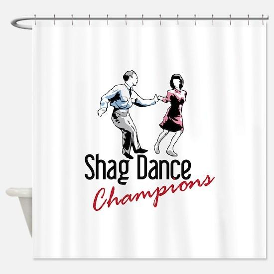 Shag Dance Champions Shower Curtain