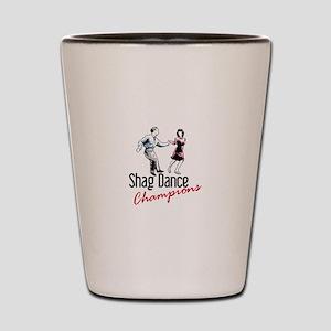 Shag Dance Champions Shot Glass