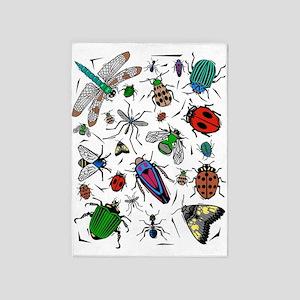Bugs 5'x7'area Rug