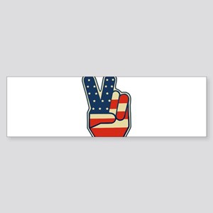 peaceusa Bumper Sticker