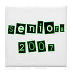 Seniors 2007 Tile Coaster