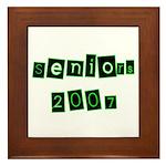 Seniors 2007 Framed Tile