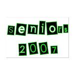 Seniors 2007  Mini Poster Print