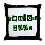 Seniors 2007  Throw Pillow